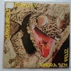 Discos de vinilo: AEROLINEAS FEDERALES - AHORA SOY FELIZ / VACACIONES / SOY FEA (EP PROMO 1986). Lote 53271718