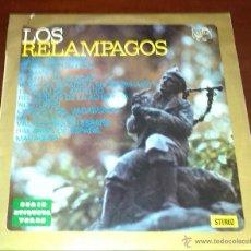Disques de vinyle: LOS RELAMPAGOS - SERIE ETIQUETA VERDE - 1976 -. Lote 53277228
