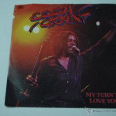 Discos de vinilo: EDDY GRANT ( MY TURN TO LOVE YOU - USE IT OR LOSE IT ) 1980-ITALY SINGLE45 ICE. Lote 53278163