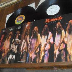Discos de vinilo: ROSENDO 2 LP. DIRECTO. MADE IN SPAIN. 1989.. Lote 53278513