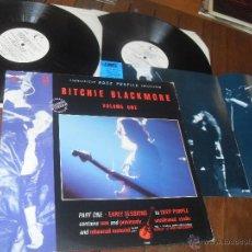 Discos de vinilo: RITCHIE BLACKMORE 2 LP. VOLUME ONE. CONNOISSEUR ROCK PROFILE COLLECTION. MADE IN ENGLAND. UK. 1989.. Lote 53278978