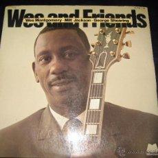 Discos de vinilo: WES MONTGOMERY - MILT JACKSON, 2 LP, S. K. J. + 18, AÑO 1976. Lote 53279468