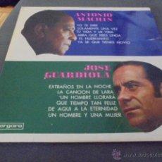 Discos de vinilo: JOSE GUARDIOLA Y ANTONIO MACHIN. Lote 53279908