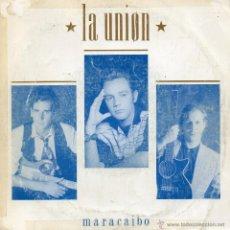Disques de vinyle: LA UNION, SG, MARACAIBO + 1, AÑO 1989 PROMO. Lote 53280346
