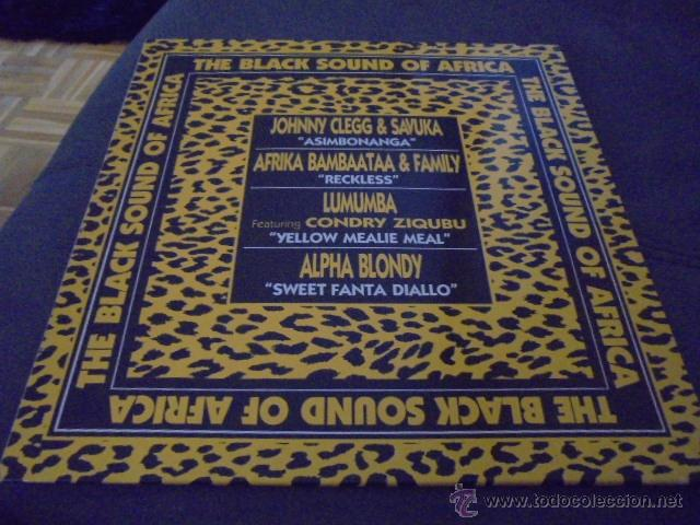 THE BLACK SOUND OF AFRICA // COMO NUEVO (Música - Discos de Vinilo - EPs - Reggae - Ska	)