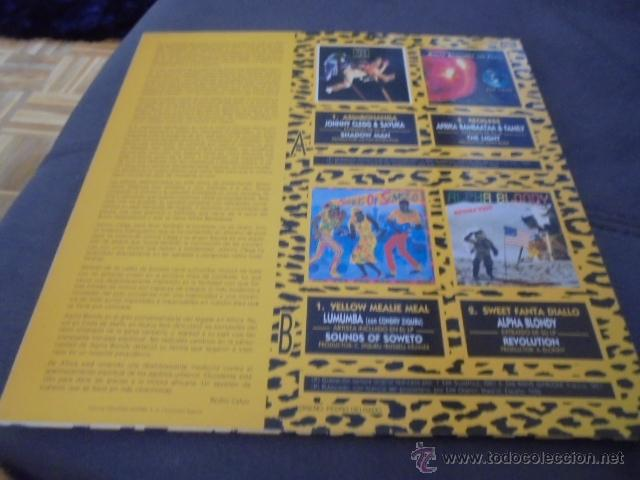 Discos de vinilo: THE BLACK SOUND OF AFRICA // Como nuevo - Foto 2 - 164117076