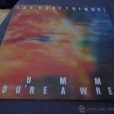 Discos de vinilo: THE VERY THINGS --- MUMMY YOU'RE A WRECK. Lote 53282184