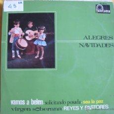 Discos de vinilo: LP - NAVIDAD - ALEGRES NAVIDADES - VARIOS (SPAIN, DISCOS FONTANA 1967). Lote 53285318