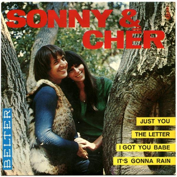 Sonny & Cher – Just You - Ep Spain 1965 - Belter 51 572