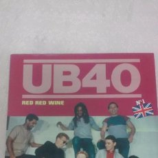 Discos de vinilo: UB40 RED RED WINE MAXISINGLE AÑO 1983. Lote 53511193