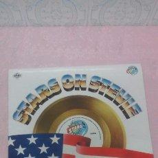 Discos de vinilo: STARS ON 45 - STARS ON STEVIE MAXISINGLE AÑO 1982. Lote 53287558