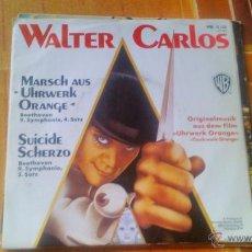 Discos de vinilo: WALTER CARLOS MARSCH AUS UHRWERK ORANGE,SUICIDE SCHERZO.1972.ESTILO NEOCLASICO ELECTRONIC CLASSICAL. Lote 53287559