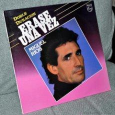 """Discos de vinilo: MIGUEL RIOS - LP VINILO 12"""" - ERASE UNA VEZ - EDITADO EN ESPAÑA - 24 TRACKS - PHILIPS - AÑO 1985. Lote 53288798"""