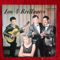 Discos de vinilo: LOS CUATRO BRILLANTES EP EL CARAMBO + 3 TEMAS. Lote 161932085