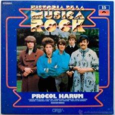 Discos de vinilo: PROCOL HARUM - HISTORIA DE LA MÚSICA ROCK - LP. Lote 53290369