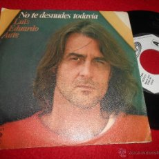 Discos de vinilo: LUIS EDUARDO AUTE NO TE DESNUDES TODAVIA/DE TU RUIDO 7 SINGLE 1980 MOVIEPLAY PROMO EX. Lote 53291786