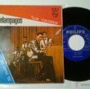 Discos de vinilo: LOS RELÁMPAGOS LOS VIKINGOS- EL PASO DE LOS URALES. Lote 53298813