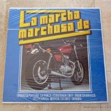 Discos de vinilo: LP LA MARCHA MARCHOSA DE PLATERIA TRINCA DHARMA ORQUESTA MIRASOL NUEVO PRECINTADO. Lote 53300328