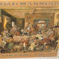 Discos de vinilo: BAD MANNERS - FORGING AHEAD PROMOCIONAL - MAGNET - 1982. Lote 53301367