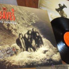 Discos de vinilo: LOS SUAVES LP SANTA COMPAÑA MADE IN SPAIN 1994. Lote 53303237