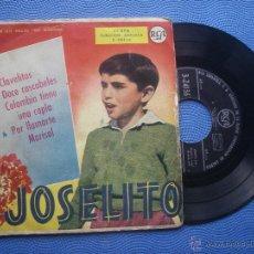 JOSELITO CLAVELITOS + 3 EP SPAIN 1959 PDELUXE