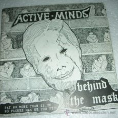 Discos de vinilo: ACTIVE MINDS – BEHIND THE MASK - EP 5 TEMAS 1993. Lote 53304802