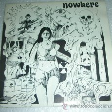 Disques de vinyle: NOWHERE ‎– TOMORROWS BLEACH - EP 1992. Lote 53304876