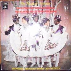 Discos de vinilo: LP THE MAGIC OF CHRISTMAS, THE GEORGE MITCHELL MINSTRELS. EDICION EMI DE 1970 (UK). Lote 53306335