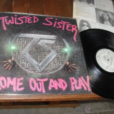Discos de vinilo: TWISTED SISTER LP. COME OUT AND PLAY. MADE IN SPAIN 1985.. Lote 53307559