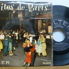 Discos de vinilo: EXITOS DE PARIS N.1-DISCO DE 4 CANCIONES VER FOTOS ADICC,,. Lote 53308328