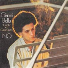 Disques de vinyle: GIANNI BELLA,NO EN ESPAÑOL DEL 78. Lote 58588844
