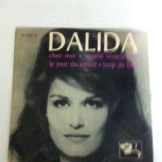Discos de vinilo: DALIDA - CHEZ MOI. Lote 53312071