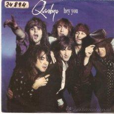 Discos de vinilo: SINGLE QUIREBOYS - HEY YOU -SEX PARTY . Lote 53315079