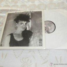 Discos de vinilo: ANA CURRA - MINI-LP (1985) MAXI-EP 4 TEMAS - UNA NOCHE SIN TI ** VINILO EXCELENTE-PROCECE DISCOTECA. Lote 53315260