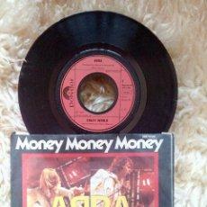 Discos de vinilo: 7 SINGLE VINILO - ABBA - MONEY MONEY MONEY - CRAZY WORLD - ALEMANI. Lote 53317186