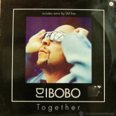 Discos de vinilo: DJ BOBO-TOGETHER MAXI SINGLE VINILO 1999 (EU). Lote 53317620