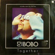 Discos de vinilo: DJ BOBO-TOGETHER MAXI SINGLE VINILO 1999 (EU). Lote 53317620