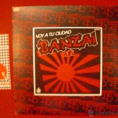 Discos de vinilo: BANZAI - VOY A TU CIUDAD. MAXI 1983. HISPAVOX. Lote 53318110