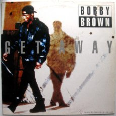 Discos de vinilo: BOBBY BROWN - GET AWAY - MAXI MCA RECORDS 1993 BPY. Lote 53319769