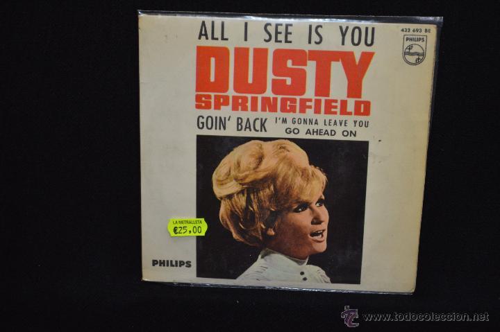 DUSTY SPRINGFIELD - TODO CUANTO VEO ES A TI (ALL I SEE IS YOU) +3 - EP (Música - Discos de Vinilo - EPs - Pop - Rock Internacional de los 70)