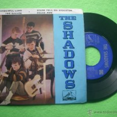 Discos de vinilo: THE SHADOWS WONDERFUL LAND + 3 EP SPAIN 1962 PDELUXE. Lote 53323821