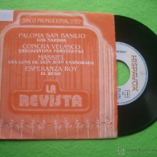 Discos de vinilo: VARIOS - ZARZUELA LA REVISTA- 4TEMAS EP 1985 PDELUXE. Lote 53323947