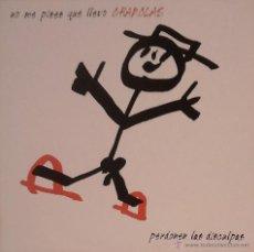 Discos de vinilo: NO ME PISES QUE LLEVO CHANCLAS (PERDONEN LAS DISCULPAS) LP 1994. Lote 53325820
