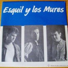 Discos de vinilo: ESQUIL Y LOS MURES - URSULA (CARA A) VESTIDO TRANSPARENTE Y AL BORDE DEL SPANGLISH (CARA B). Lote 57999487