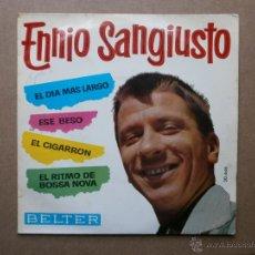Discos de vinilo: ENNIO SANGIUSTO - EL DIA MAS LARGO. Lote 53330704