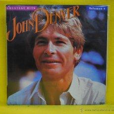 Discos de vinilo: JOHN DENVER - GREATEST HITS - LP. Lote 53331242
