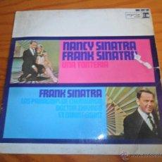 Discos de vinilo: FRANK SINATRA & NANCY- UNA TONTERIA/ DOCTOR ZHIVAGO/ ET MAINTENANT/ LOS PARAGUAS DE CHERBURGO EP1964. Lote 53336111