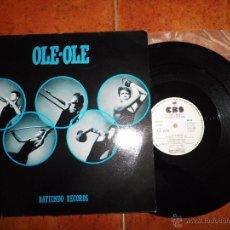 Discos de vinilo: OLE OLE BATIENDO RECORDS / CONSPIRACY VERSION INGLESA MAXI SINGLE VINILO PROMO ESPAÑA VICKY LARRAZ. Lote 53339086