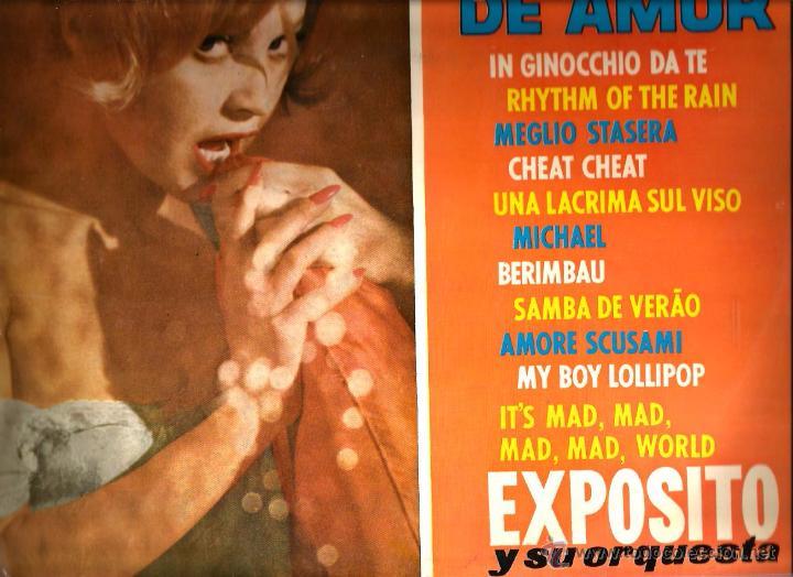 LP EXPOSITO Y SU ORQUESTA : MOTIVO DE AMOR ( TEMAS DE BADEN POWELL, CHRIS BLAKWELL, HENRY MANCINI... (Música - Discos - LP Vinilo - Orquestas)