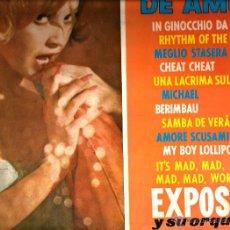 Discos de vinilo: LP EXPOSITO Y SU ORQUESTA : MOTIVO DE AMOR ( TEMAS DE BADEN POWELL, CHRIS BLAKWELL, HENRY MANCINI.... Lote 53341492